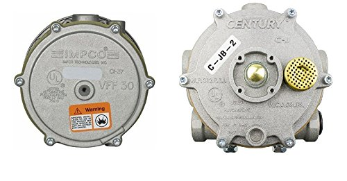 - JB-2 Vaporizer Regulator Century and VFF30-2 Impco Filter Lockoff Combo Kit LPG Gas Forklift Trucks