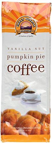 Vanilla Nut Pumpkin Pie Coffee, Ground, 1 Lb