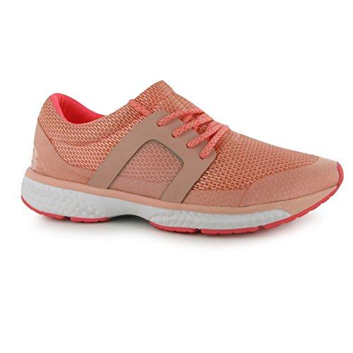 Tissu chemin de rebond Baskets pour femme Nude/corail Sneakers Chaussures de sport Chaussures