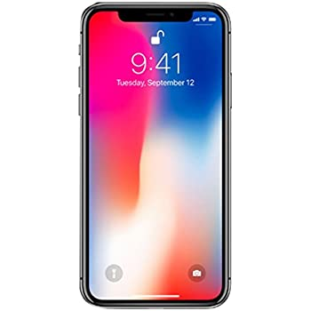 meet c6611 8c928 Apple iPhone X, Fully Unlocked, 64GB - Space Gray (Renewed)