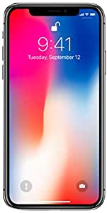 "Apple iPhone X, Fully Unlocked 5.8"", 256 GB - Space Gray (Certified Refurbished)"
