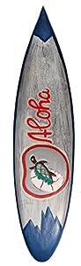 Surfboard 1,00m Aloha Schildkröte Board Surfbrett Dekoration
