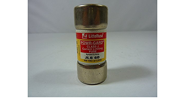 Littelfuse JLS 60 Class J Current Limiting Fuse 60A 600VAC 2