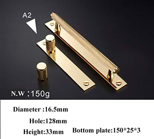 C0916128 gold Knurled Textured Modern Kitchen Cabinet knobs and Handles Drawer Pulls Bedroom Knobs Brass T Bar Cabinet Hardware  (color  C0903128)