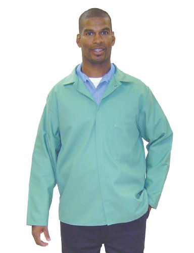 Steel Grip WCP9450-30-4XL Westex Indura Secondary Work Wear Chaqueta verde visual, 4XL