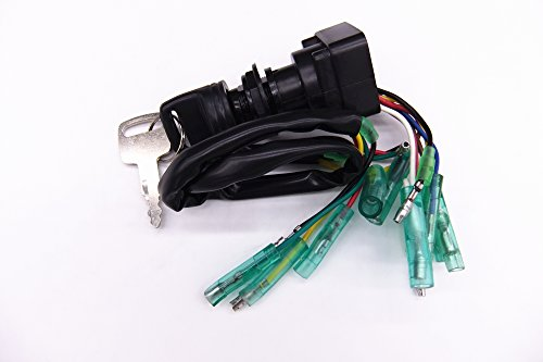 Remote Control Box Ignition Switch/Main Switch Assy 703-82510-43-00 for Yamaha Outboard Motors 703-82510-42-00 Push to Choke 10P