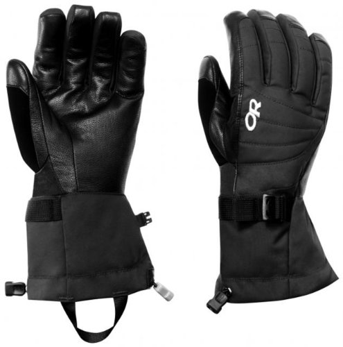 Outdoor Research Women's Revolution Gloves, Black, Large