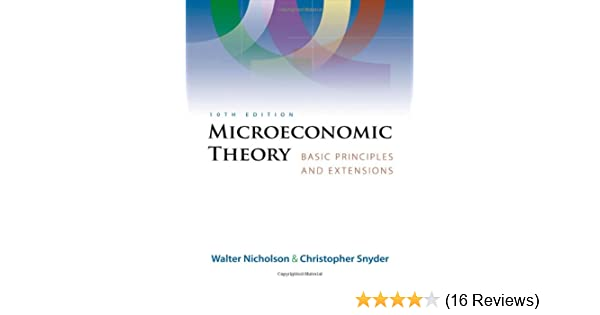Microeconomic theory basic principles and extensions with economic microeconomic theory basic principles and extensions with economic applications infotrac printed access card 9780324421620 economics books amazon fandeluxe Image collections