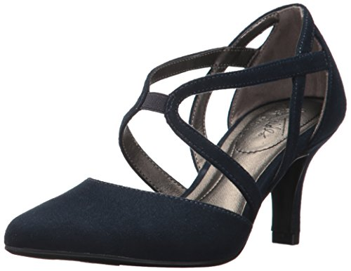 LifeStride Women's Seamless Dress Pump, lux Navy, 6.5 M US