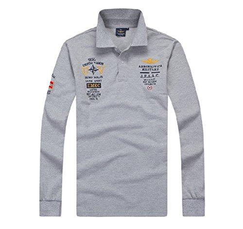 メンズ 長袖 ポロシャツ スポーツ ゴルフウェア 春 夏 秋ファッションTシャツ おしゃれ プレゼント