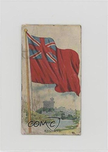 Eng Base - England Ungraded COMC Altered (Trading Card) 1910 Dockman & Son Flags - [Base] #ENG