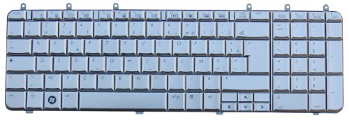 HP Original Keyboard Pavilion dv7-1000eg German Silver