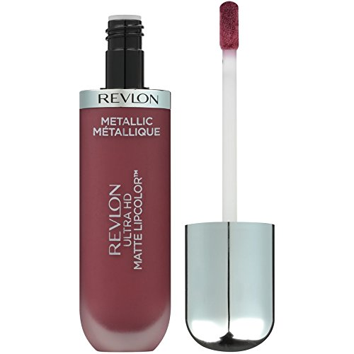 Revlon Ultra HD Matte Lipcolor, Metallic, HD Shine, 0.2 Ounce (Shine Lipstick)