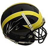 Charles Woodson Autographed Michigan Wolverines Signed Full Size Football Helmet PSA DNA COA