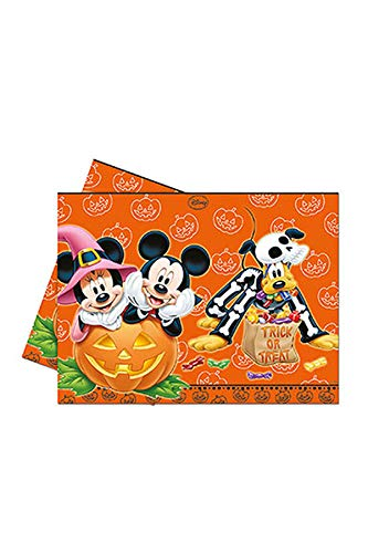 Procos S.A. Plastic Mickey Mouse Halloween Table Cover By Toycenter