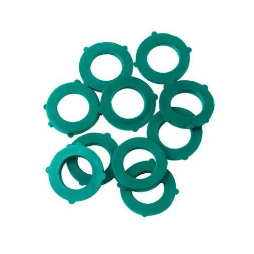 Price comparison product image 01CW10GT 10-Pack Green Thumb Hose Washers