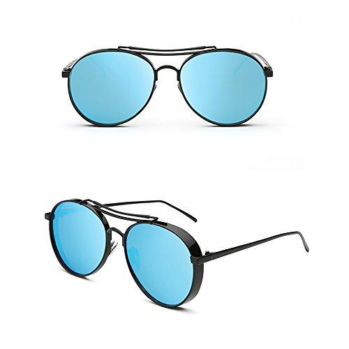 Lunettes PolariséEs Soleil Lunettes De Rondes De UV Blue pour Hommes Soleil TESITE 100 SF0q4xw