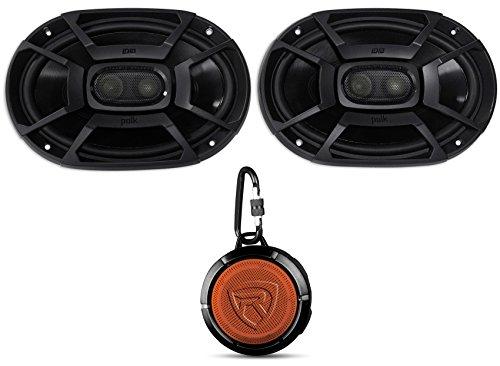 Polk Audio 2 DB692 6x9 450w Car/Marine/ATV/Motorcycle Speakers+Speaker