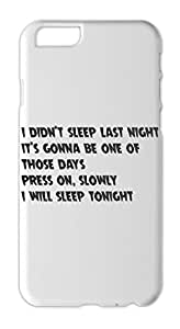i didn't sleep last night it's gonna be one of those days Iphone 6 plus case