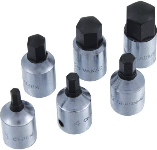 "SEK 1/4""(6.35) DR.ヘックスビットソケット 3mm HS030"