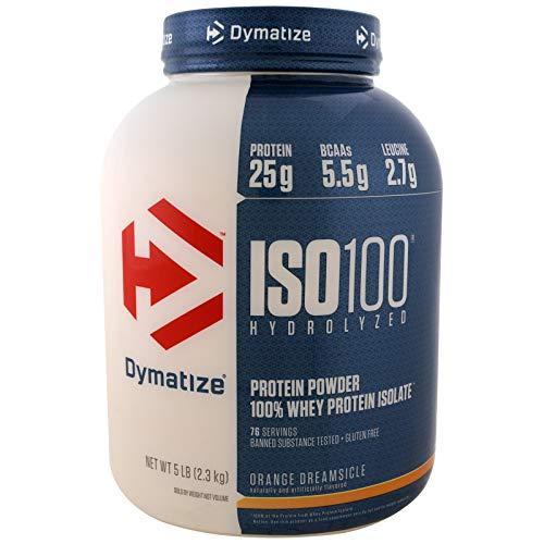 Dymatize ISO 100 Hydrolyzed 100% Whey Protein Isolate - Orange Dreamsicle, ()