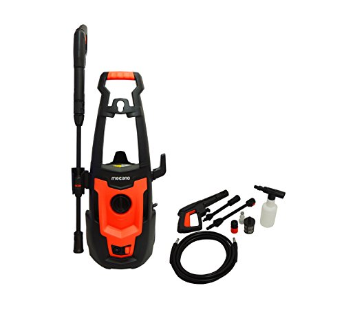 Mecano 1500 W Universal Motor Home And Car Pressure Washer Black