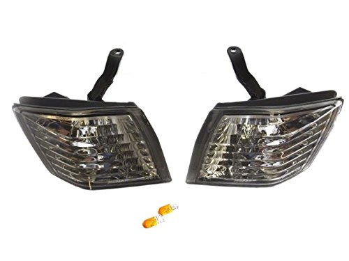 Gent5 GL020 Front Crystal Clear Corner Lamp Lights Nissan S14 Kouki Silvia 240sx - Crystal Clear Corner Lights