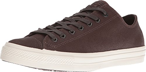 Converse by John Varvatos Chuck Taylor All Star II Coated Leather Ox Brown/Turtledove (3 Men/Women 5)