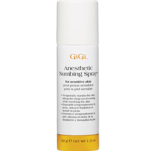 GIGI honee anesthetic numbing spray (1.5 oz), White 0725
