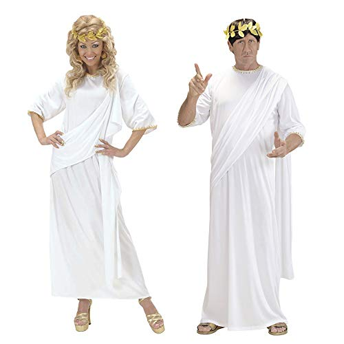 Mens Adult Unisex Toga Costume Medium For Greek Party Roman Emperor Fancy Dress -