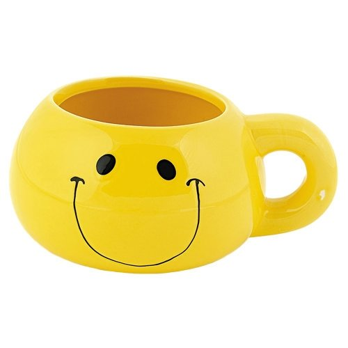 Ceramic Smiley Face 16 oz. Mug