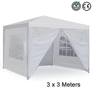 HomeTech 10u0027x10u0027 Outdoor Canopy Wedding Tent with 4 Sidewalls White | Heavy Duty  sc 1 st  Amazon.com & Amazon.com : HomeTech 10u0027x10u0027 Outdoor Canopy Wedding Tent with 4 ...