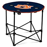 Auburn Tigers Collapsible Round Table with 4 Cup