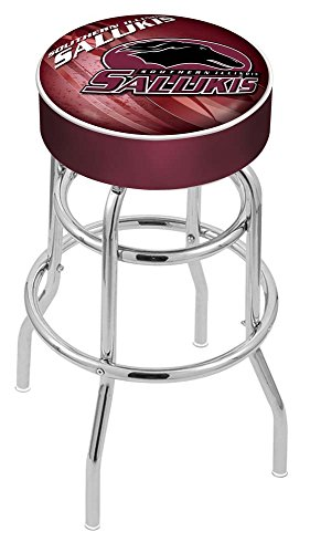 Holland Bar Stool Officially Licensed L7C1 Southern Illinois University Swivel Bar Stool, 30