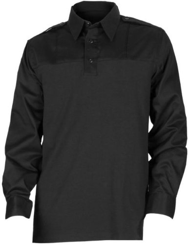 5.11 Tactical Men's Rapid PDU Long-Sleeve Work Uniform Casual Shirt, Poly-Cotton Fabric, Style 72197