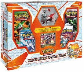 Pokemon White Kyurem Box w/ Figure, Foil & 4 Black & White Series Booster (Kyurem Box)