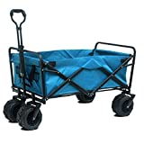 Name: Hand push-pull cart shopping cart   Extended size: 95x60x35cm / 37.43x23.64x13.79inch   Folding size: 80x60x20cm / 31.52x23.64x7.88inch   Features - Includes an adjustable handle for easy transport and 2 mesh cup holders for safe handling of...