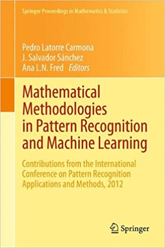 Mathematical Methodologies In Pattern Recognition And Machine Gorgeous Pattern Recognition And Machine Learning
