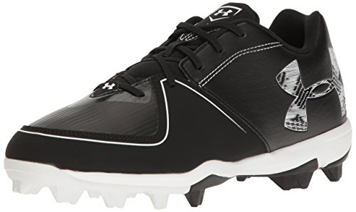 Under Armour Men's Glyde RM Softball Shoe, (001)/Black, 8.5