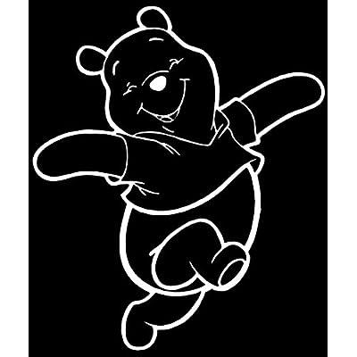 Winnie The Pooh Disney Vinyl Car Decal: Automotive [5Bkhe0409431]