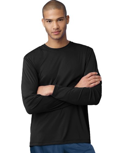 Hanes Cool DRI'Performance mens Long-Sleeve - Outlet Swimwear Competition