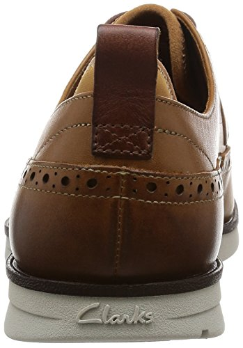 ClarksTrigen Limit - Derby hombre Marrón (Cognac Leather)
