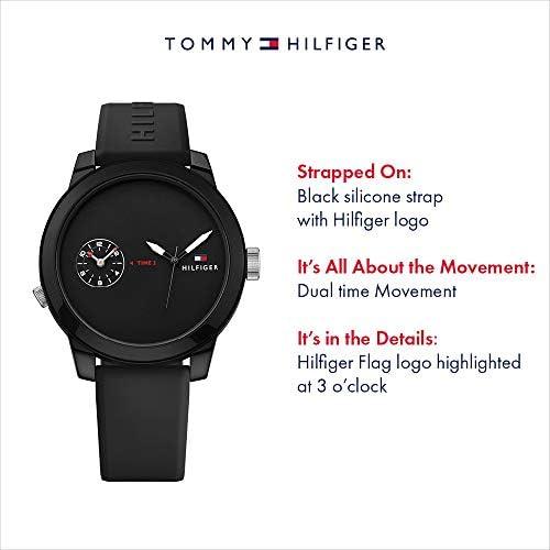 Tommy Hilfiger Men's 1791326 Analog Display Quartz Black Watch WeeklyReviewer