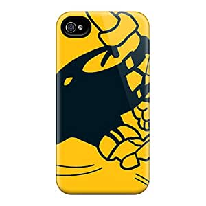 Protective Hard Phone Cover For Iphone 4/4s (etq13676ZSGF) Customized Attractive Pittsburgh Steelers Pictures