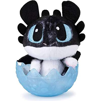 """How to Train Your Dragon: Hidden World Baby Nightlight 3"""" Plush in Egg - Factory Sealed: Toys & Games"""
