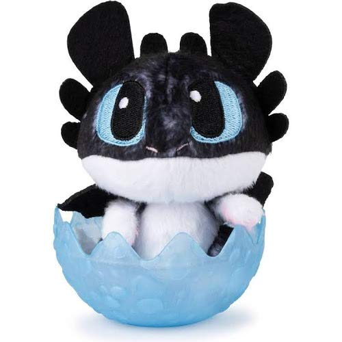 "How to Train Your Dragon: Hidden World Baby Nightlight 3"" Plush in Egg - Factory Sealed"