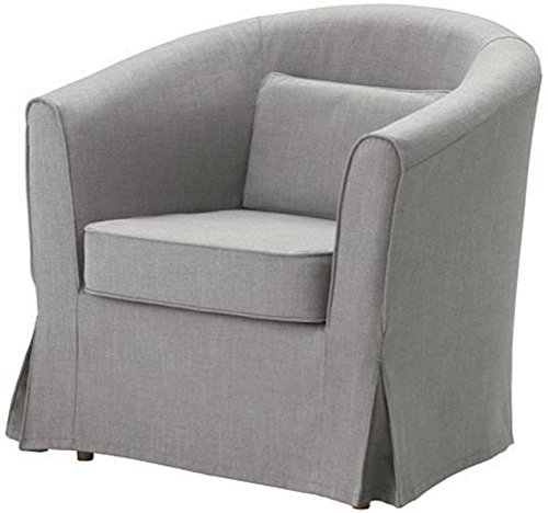 The Light Gray Ektorp Tullsta Chair Cover Replacement is Custom Made for Ikea Tullsta Cover, A Armchair Sofa Slipcover Replacement (Ikea Chair Slipcover)