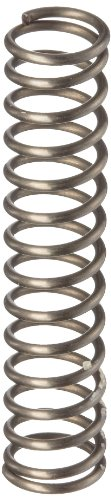 Music Wire Compression Spring, Steel, Metric, 4.5 mm OD, 0.5 mm Wire Size, 5.11 mm Compressed Length, 10 mm Free Length, 9.34 N Load Capacity, 1.81 N/mm Spring Rate (Pack of 10)