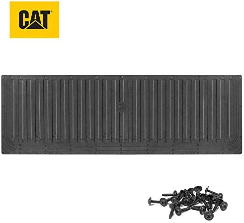 Caterpillar Ultra Tough Heavy Duty Truck Tailgate Mat/Pad/Protector – Universal Trim-to-Fit Extra-Thick Rubber for All Pickup Trucks 62″ x 21″ (CAMT-1509)