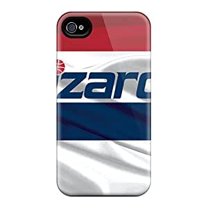 Hot Style DpEyq2351EVlNX Protective Case Cover For Iphone4/4s(washington Wizards)